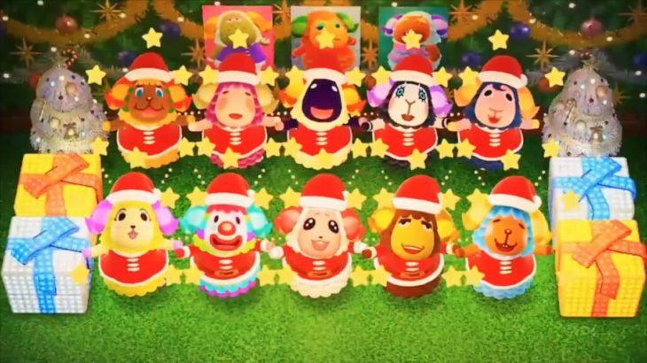 【あつ森】『決まったぞ!』ちゃちゃまるたちのクリスマスダンスを実況する【あつまれどうぶつの森】【アナウンサー】【たいきち】【ゲーム実況】