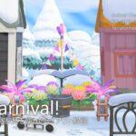 【あつ森】カーニバル家具を使った住宅街のレイアウト解説|Carnival!【Case2:Snowy winter-Early spring|島クリエイター】